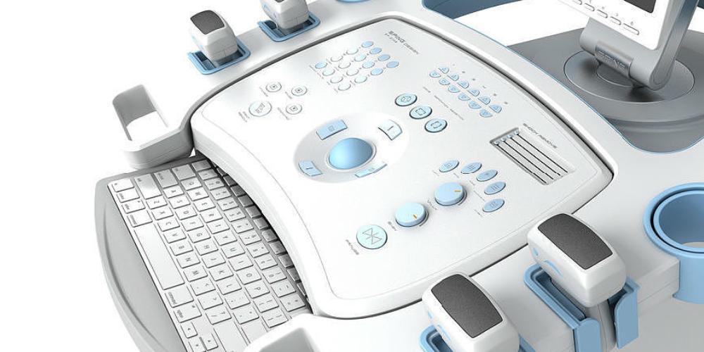 迈伺特在线式点胶机在医疗器械按键上的点胶